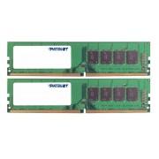 Модуль памяти Patriot Memory DDR4 DIMM 2400MHz PC4-19200 CL17 - 8Gb KIT (2x4Gb) PSD48G2400K