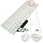 Tastatura Laptop Asus X201E alba layout UK + CADOU