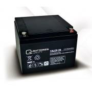 Batería para UPS-SAI 12v 30Ah Plomo Agm Q-Batteries 12LCP-30