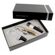 Krabička s příslušenstvím pro víno Perfegi, černá