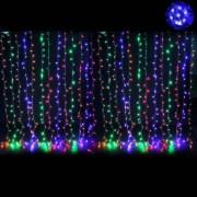 Perdea Luminoasa Craciun 8x1m 380LED 7in1 Multicolor FN IP44 P CL
