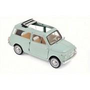 1962 Fiat 500 Giardiniera, Light Green - Norev 187723-1/18 Scale Diecast Model Toy Car