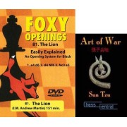 Foxy Chess Openings: The Lion DVD & ChessCentral's 'Art of War' E-Book (2 Item Bundle)