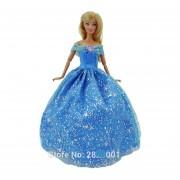 Barbie Vestido Cuento De Hadas Hecho A Mano Modelo Mariposa