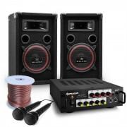 Electronic-Star Bass Noon Equipo completo de Karaoke PA DJ 600W (PL-10003520-2)