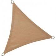 Express Schaduwdoek driehoek 5 meter zand