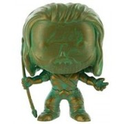 Figurina Pop! Heroes Batman Vs. Superman Aquaman Bronzed Patina