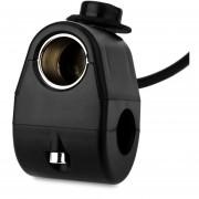 Car Electronics Accessories, 12 - 24V Motocicleta Coche Encendedor Con Cable