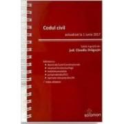 Codul civil actualizat la 1 iunie 2017 - Claudiu Dragusin