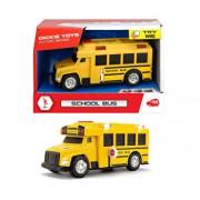 Autobuz scolar cu sunete si lumini Dickie Toys, 15 cm