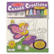 Melissa & Doug Fairy Canvas Creations, Multi Color