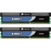 Kit memorie Corsair 8GB 2x4GB DDR3 1600MHz rev A