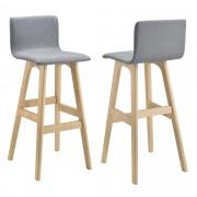 [en.casa]® Barová stolička HTBS-3761