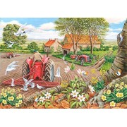 The House of Puzzles - Red Harrows - Big 500 Piece Jigsaw Puzzle