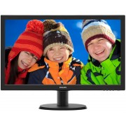 "PHILIPS 23.6"" V-line 243V5LHSB5/00 LED monitor"
