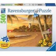 Пъзел Ravensburger 500 елемента, Тропическа любов, 7014887