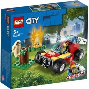Lego City Fire (60247). Incendio nella foresta