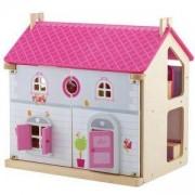 Дървена къща за кукли Sevi, 022025