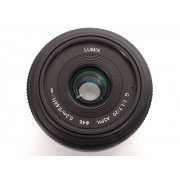 Panasonic Lumix G 20mm f/1.7 II - Zwart