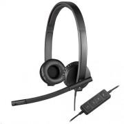 Logitech USB Headset H570e Stereo - USB - EMEA - STEREO WITH LEATHERETTE PAD