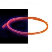 Tub flexibil OEM 10/8mm UV Red, 1m