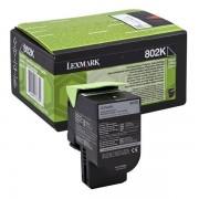 Lexmark 80C20K0 - 802K toner negro