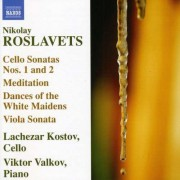 N. Roslavets - Works For Cello & Piano (0747313099672) (1 CD)