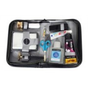 Toprun Thunder Park Avenue Travel Shaving Kit & Bag(Black, Grey)