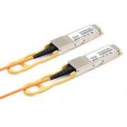 LODFIBER Cable óptico Activo QSFP-H40G-AOC1M (1 m, Compatible con Cisco 40G QSFP+)