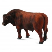 Figurina Taur Red Angus, 12 x 6.5 cm