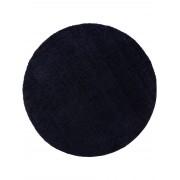 benuta ESSENTIALS Alfombra pelo largo shaggy Cosy Azul oscuro ø 120 cm redondo - Alfombra suave para salon y dormitorio