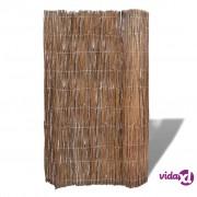 vidaXL Vrtna ograda od pletenih grana vrbe 300 x 100 cm