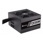 Fuente de Poder Corsair CX550M 80 PLUS Bronze, 20+4 pin ATX, 120mm, 550W, Negro