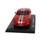 Bburago 1/32 Plus - Dodge Viper SRT 10,Multi Color
