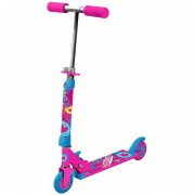 Scooter Rush Girl con luces bestoys, rosado