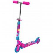 Scooter Rush Girl con luces bestoys, rosado