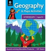 Geography & Maps Activities, Intermediate ] Ages 9+, Paperback/Rand McNally