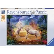 Puzzle RavensBurger Unicorni 500 Piese