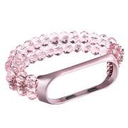 Eternico Mi Band 3 / 4 Crystal, rózsaszín