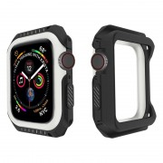 Apple Watch Series 4 Silicone Case - 44mm - Black / White