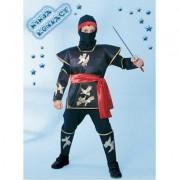 Costume Ninja Kombact tg. 7/8 anni