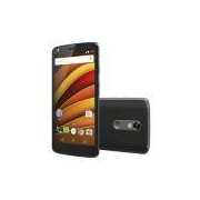 Smartphone Motorola Moto X Force Preto 4G Tela 5.4 Android 5.1 Câmera 21Mp Dual Chip 64Gb