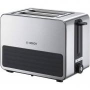 Bosch TAT7S25 Tostadeira 2 Ranhuras 1050W Aço Inoxidável