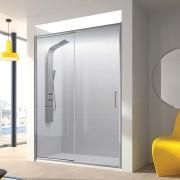 Mampara de ducha Bel-la 01 fijo y 01 puerta corredera