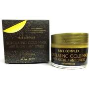 Gold mask face complex anti rughe anti age stress acne oro pulizia viso 50 ml