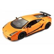 Bburago Lamborghini Gallardo Superleggera, Orange - 22108OR 1/24 Scale Diecast Model Toy Car