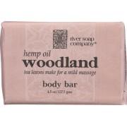 River Soap Company Soap - Hemp Oil Woodland Bar - Case of 1 - 4.5 oz.