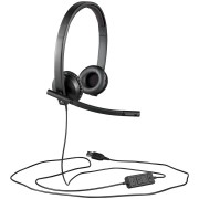 LOGITECH UC Corded Stereo USB Headset H570e (Leatherette Pad) - Business EMEA
