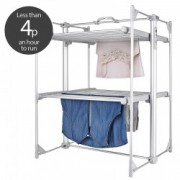 Uscator de haine incalzit Lakeland Deluxe Dry Soon 2 Tier Airer 25210