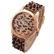 Geneva armbandsur – Leopard